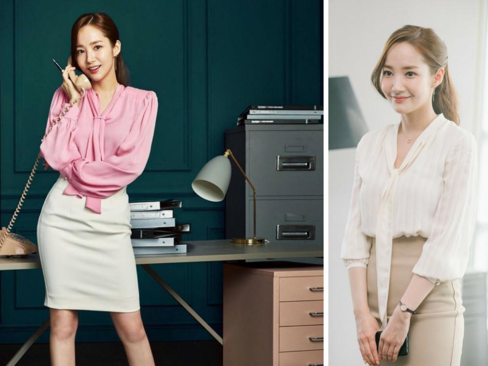 Mẫu đồng phục công sở Thư ký Kim - đồng phục công sở Hàn Quốc