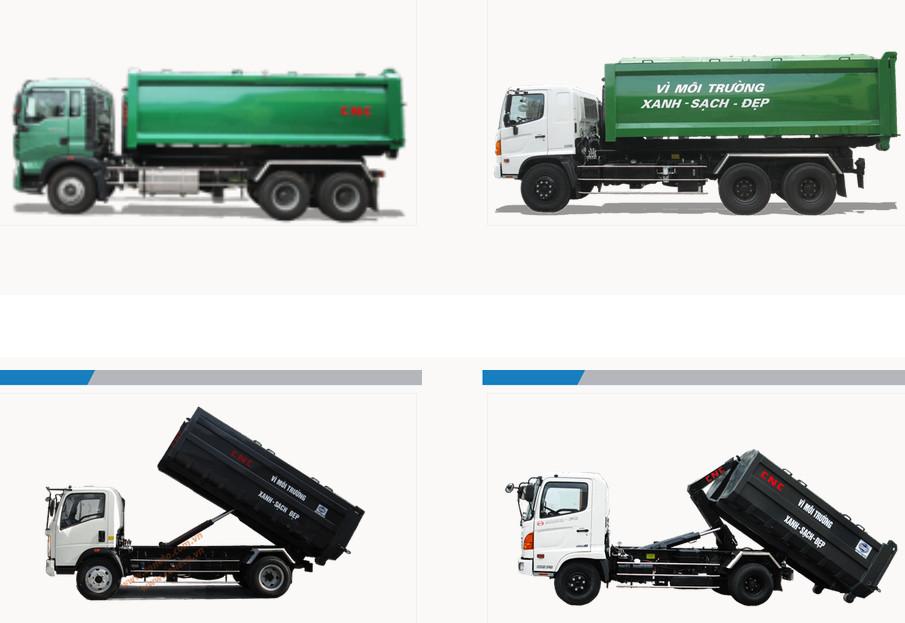 Xe chở rác giá rẻ tại TPHCM