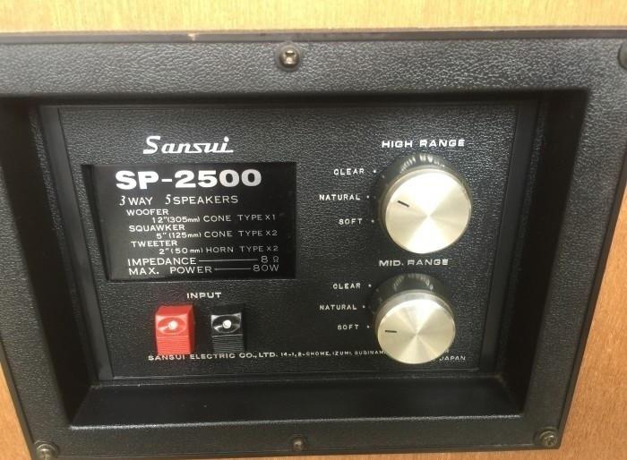 Giá loa thùng Sansui cổ điển SP2500 đã qua sử dụng(3)