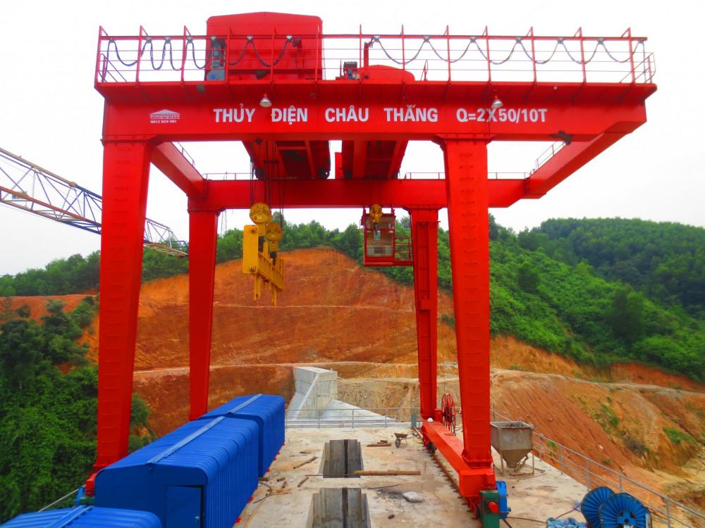 Báo giá thiết kế, lắp đặt cầu trục, cổng trục tại Hà Nội