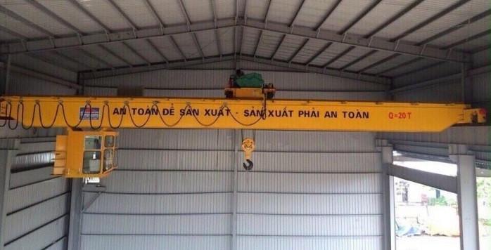 Công ty thiết kế, lắp đặt cầu trục dầm đơn uy tín tại Hà Nội