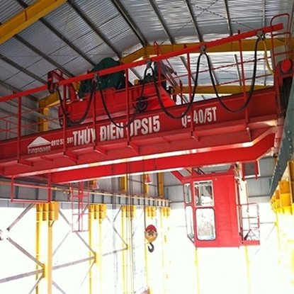 Dịch vụ thiết kế lắp đặt cầu trục, cổng trục dầm đôi tại Hà Nội