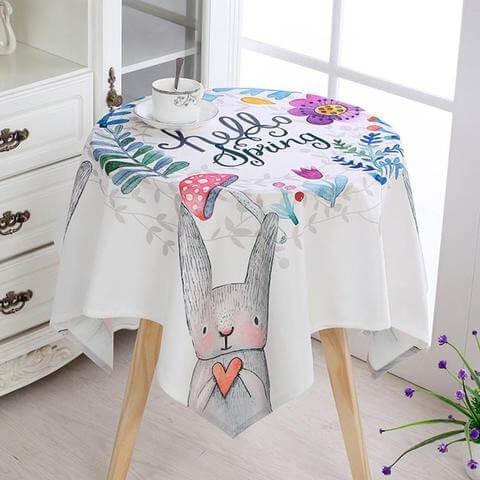 Những mẫu khăn trải bàn tròn hot nhất hiện nay - 1