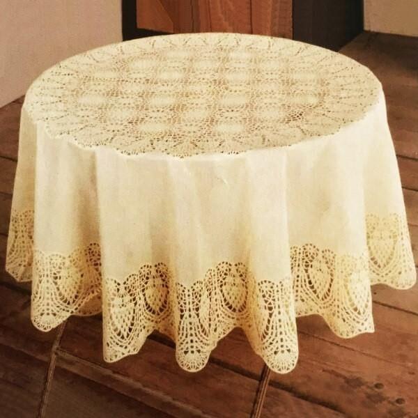 Những mẫu khăn trải bàn tròn hot nhất hiện nay - 2