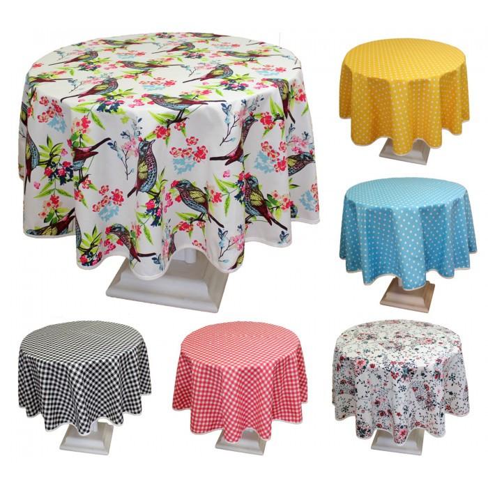 Những mẫu khăn trải bàn tròn hot nhất hiện nay - 5