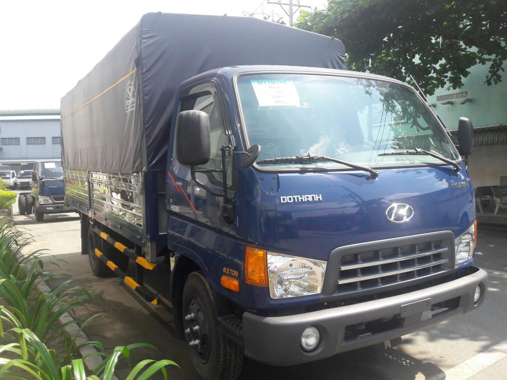 Hình thức bắt mắt Xe tải Hyundai HD99 Đô Thành