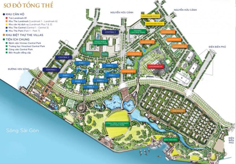Công viên Vinhomes Central Park thuộc sở hữu của TP.HCM hay của Khu đô thị Vinhomes Central Park?
