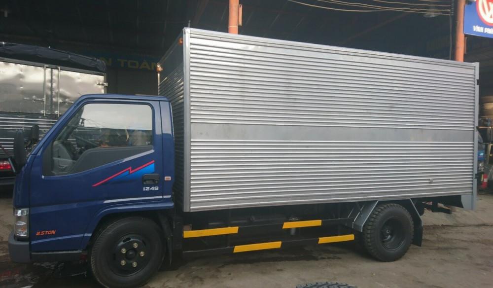 Thủ tục mua trả góp xe tải xe tải Đô Thành iz49 và lãi suất khi mua xe