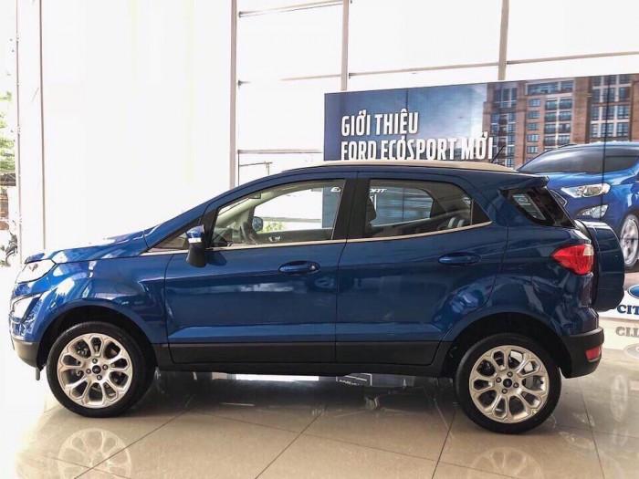 Tổng thể thiết kế ngoại thất của Ford Ecosport 2018