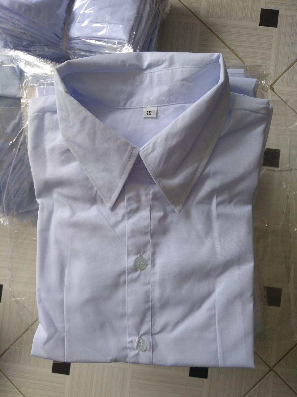 Mẫu may áo sơ mi trắng giá rẻ từ xưởng