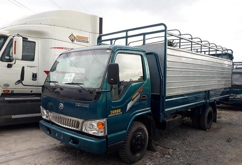 Mua trả góp xe tải 3.5 tấn Chiến Thắng