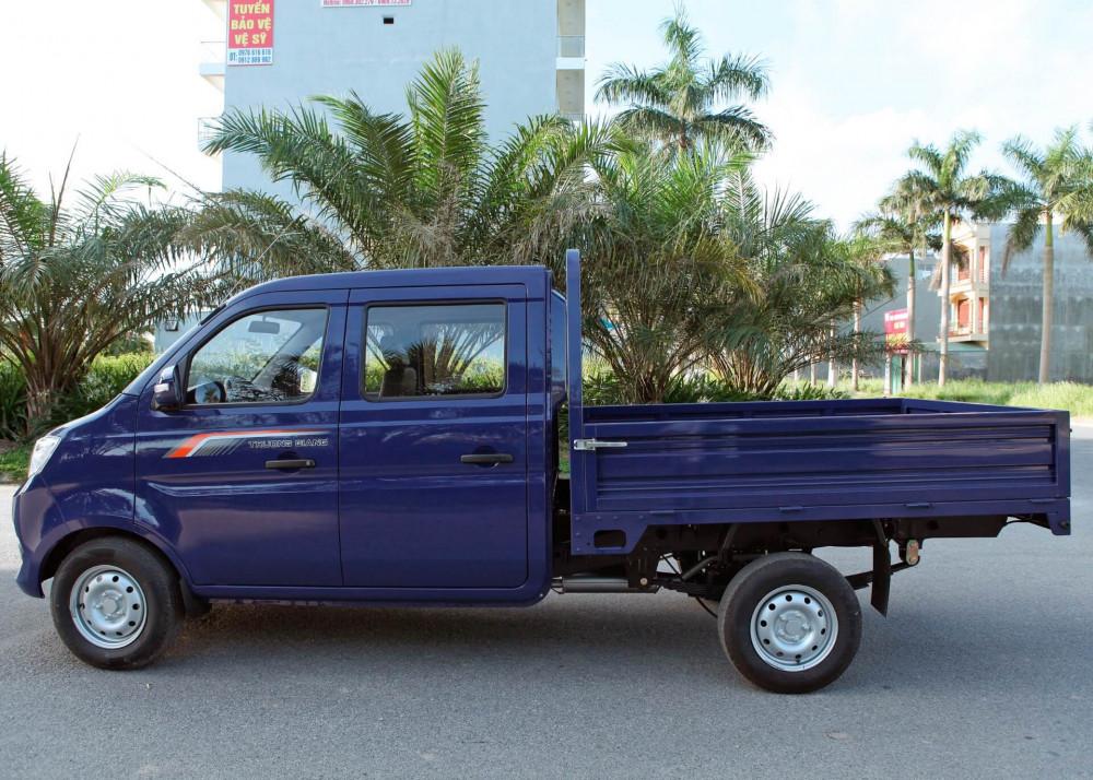 Mua xe tải dưới 1 tấn giá rẻ: xe tải Trường Giang T3 810kg, xe tải cabin kép, 5 chổ ngồi độc đáo, tiện nghi, trả góp nhanh lãi suất thấp