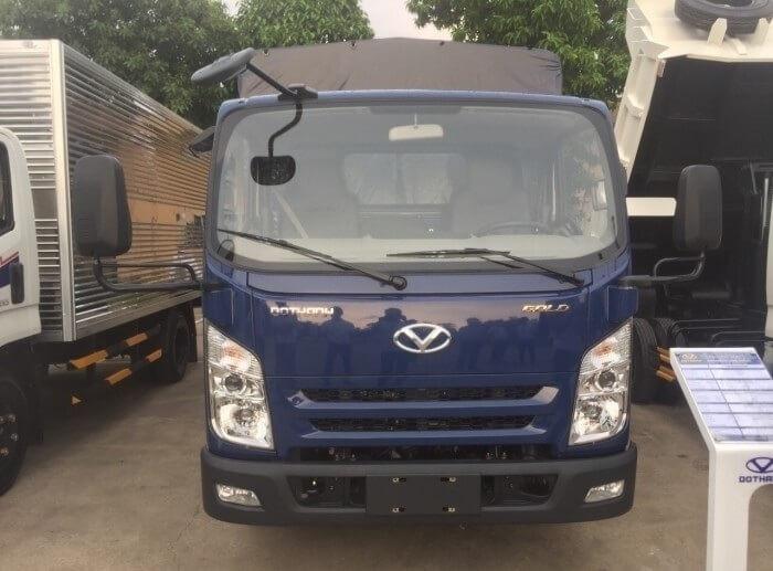 Ngoại thất xe tải Đô Thành IZ65 mới mẻ và hiện đại