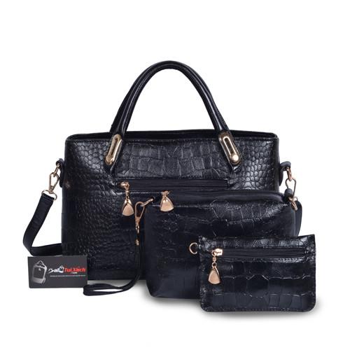 Mẫu bộ 3 túi xách màu đen