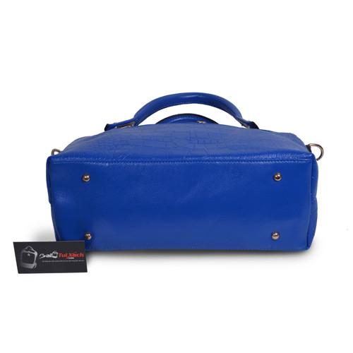 Mẫu bộ 3 túi xách màu xanh Navi - mặt dưới túi xách lớn