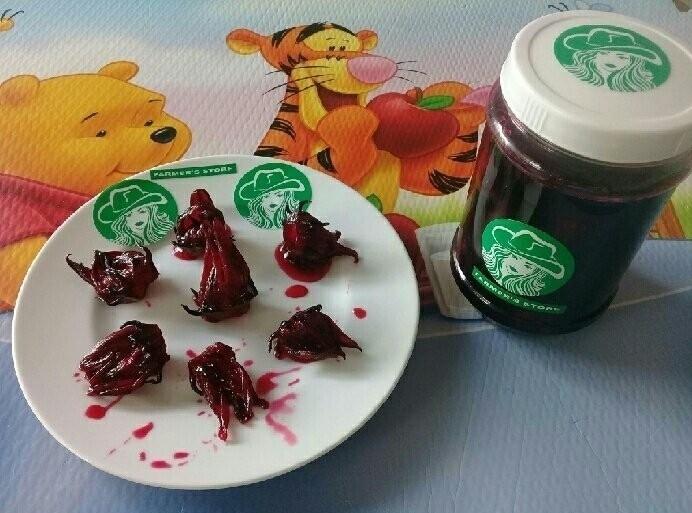 Cách làm siro Atiso từ hoa bụt giấm hay còn gọi là syrup Hibiscus/ Atiso Đỏ