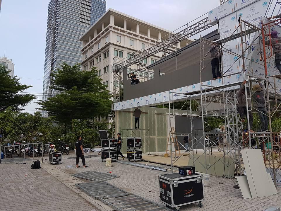 Màn hình Led Âu Lạc (Alta Media) lắp đặt màn hình Led sân khấu ngoài trời