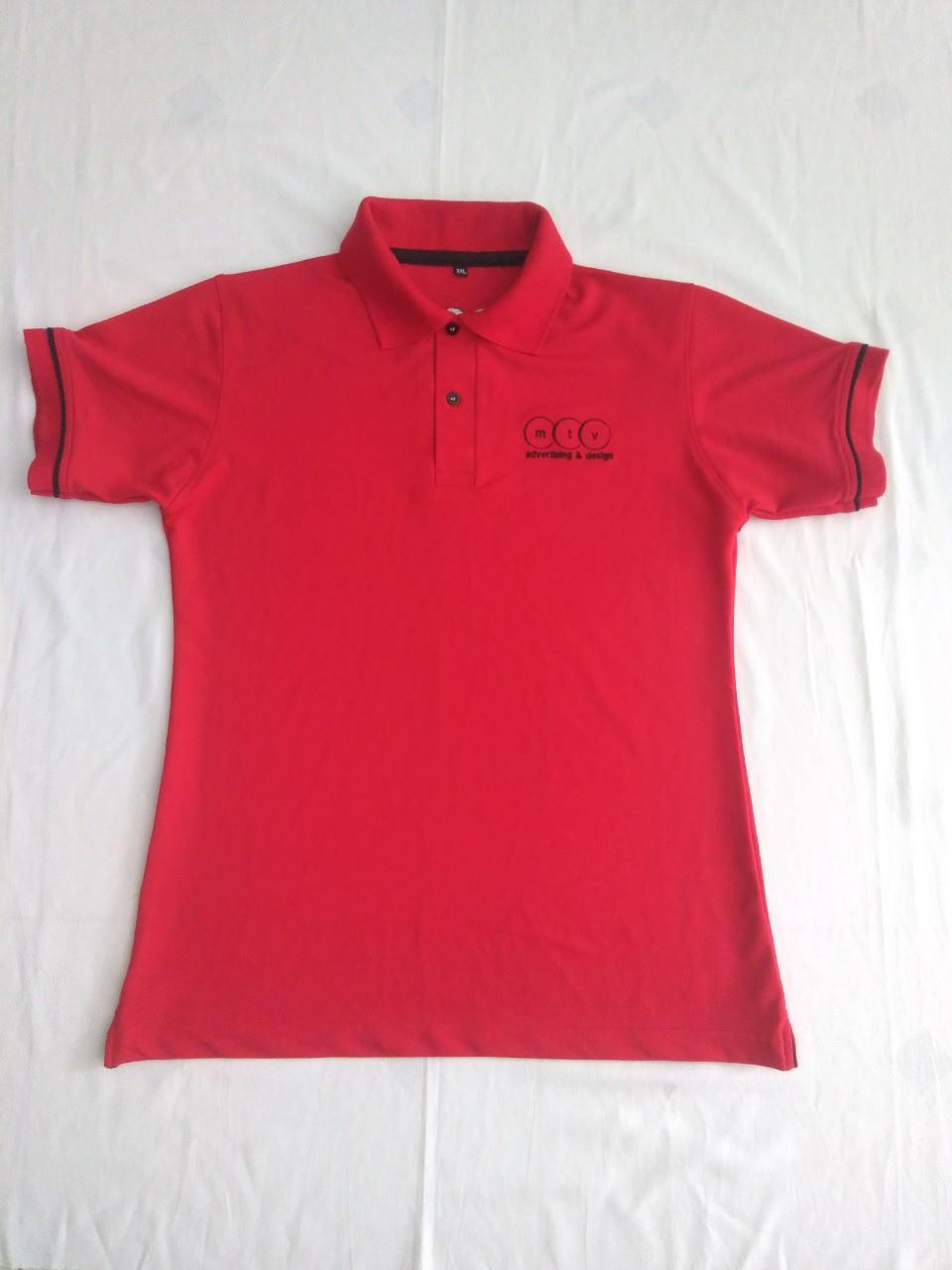 Mặt trước của áo thun đồng phục công ty