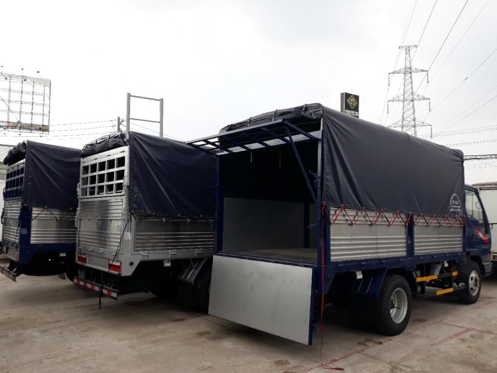chassi xe tải jac 2.4 tấn