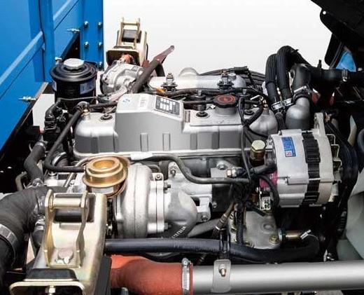 Hệ thống truyền động trên xe tải Jac 2t4 thùng mui bạt