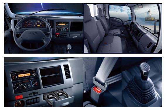 Đánh giá xe tải Jac 2T4 về các tiện ích trên xe