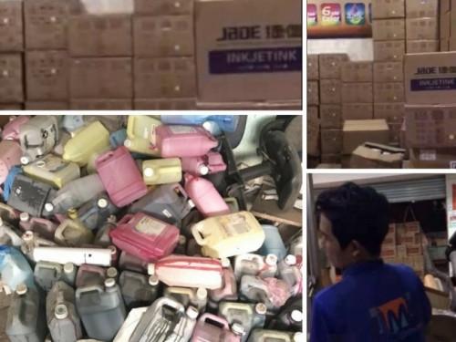 Nguồn cung cấp vật tư và mực cho máy in decal khổ nhỏ tại MayInQuangCao.com