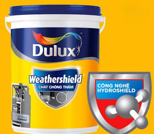 Chọn sơn chống thấm Dulux Weathershield cho ngôi nhà