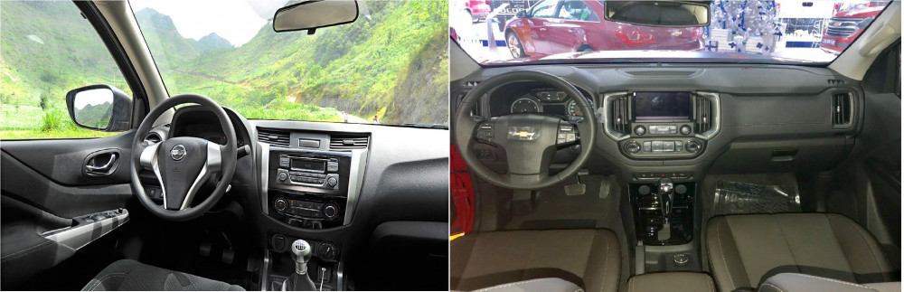 700 triệu nên chọn Nissan Navara hay Chevrolet Colorado?