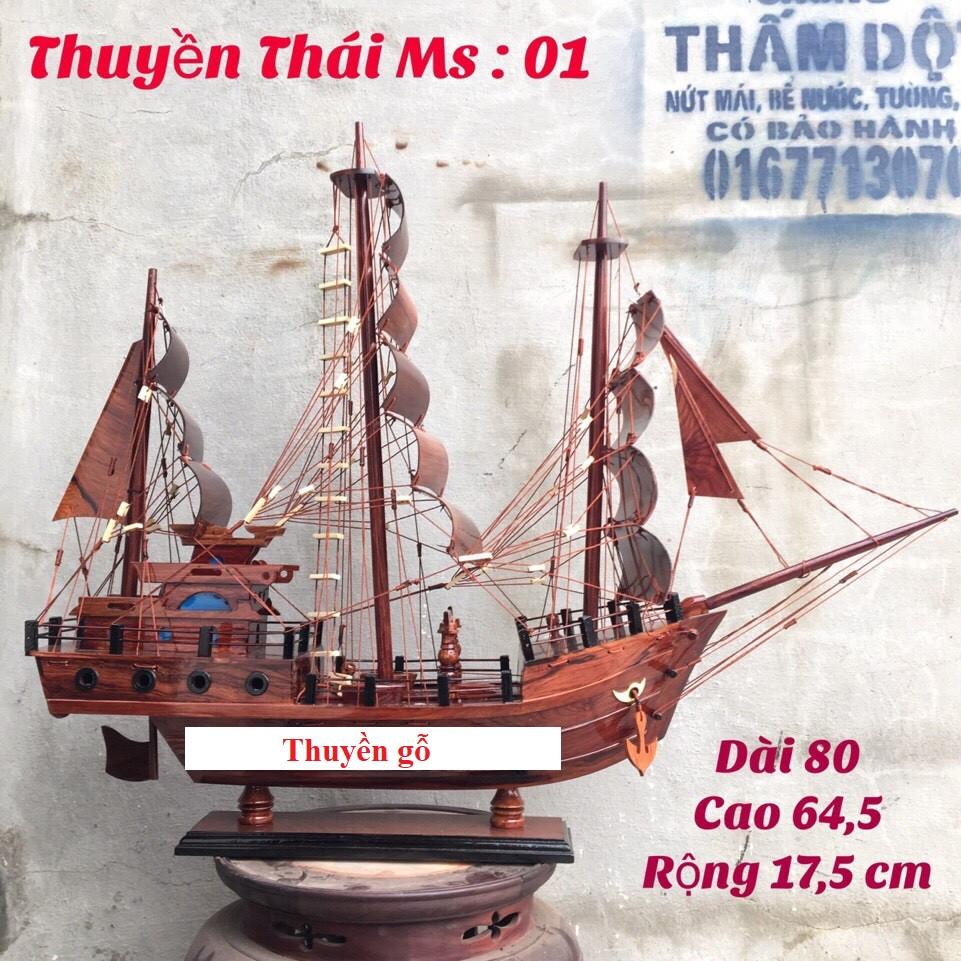 Thuyền Gỗ Cẩm Lai