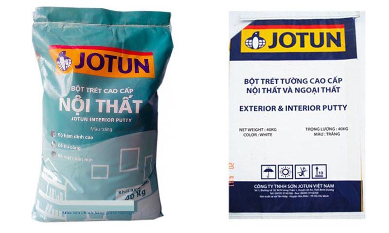 Nơi cung cấp sỉ và lẻ bột trét Jotun chính hãng giá rẻ