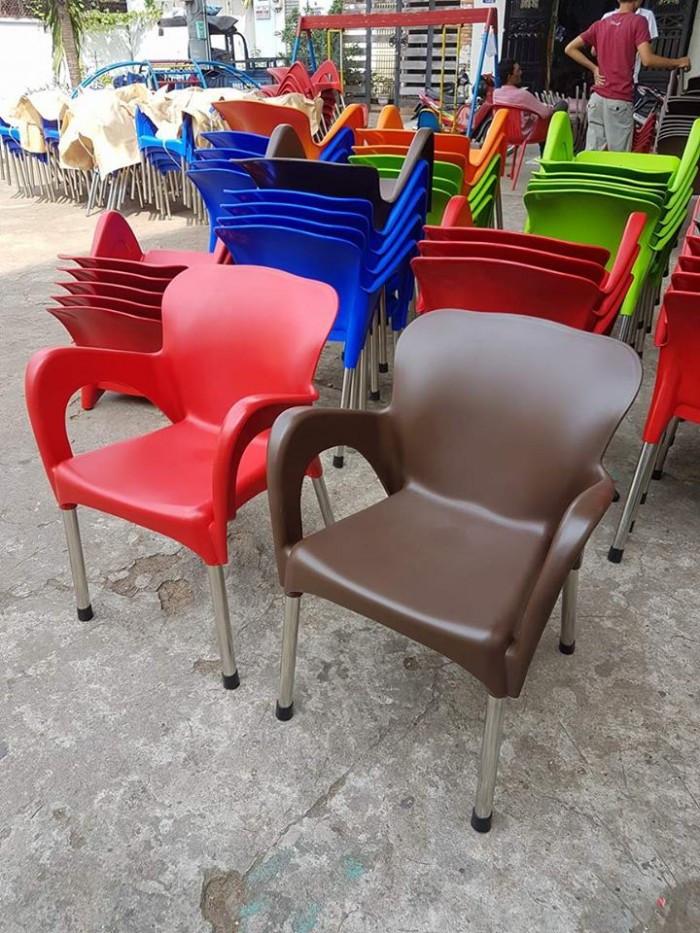 Thanh lý bàn ghế nhựa đúc cafe giá tốt(5)