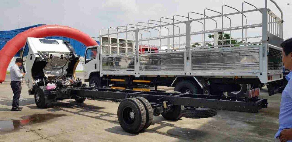 Đánh giá chi tiết Isuzu Vinh Phát 1,9 tấn thùng dài 6m2 NK490SL(1)