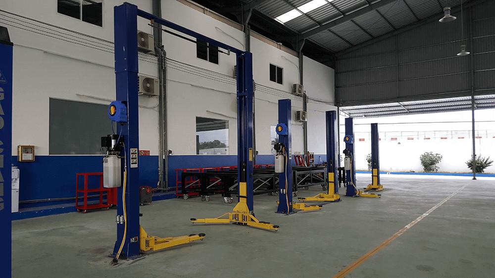 xưởng sản xuất, lắp ráp và sửa chữa xe tải tại ô tô miền nam
