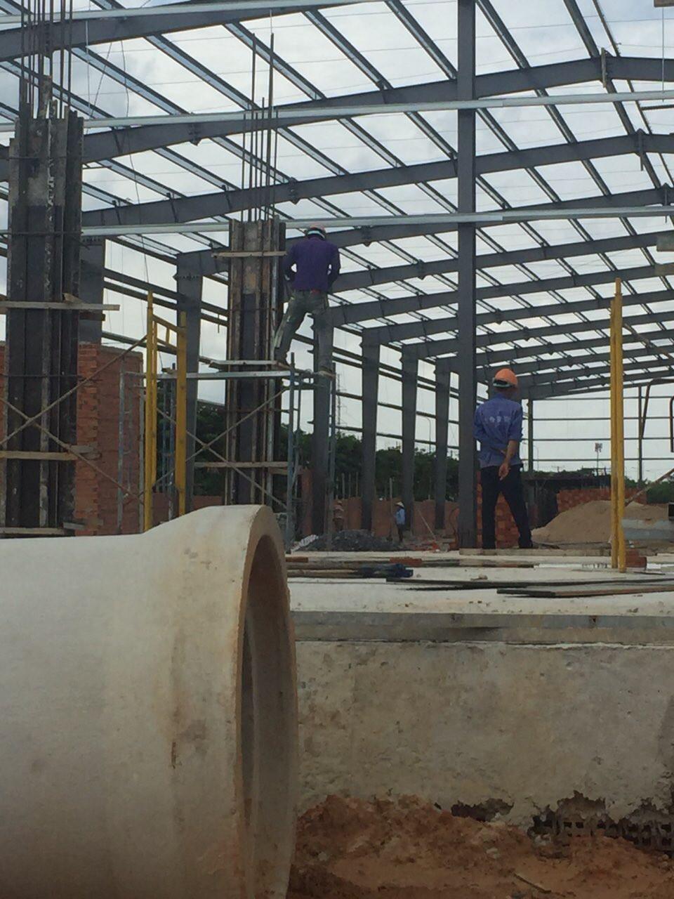 ông ty Nicon là tổng thầu thiết kế - thi công xây dựng nhà máy in Amiba - Poma 2