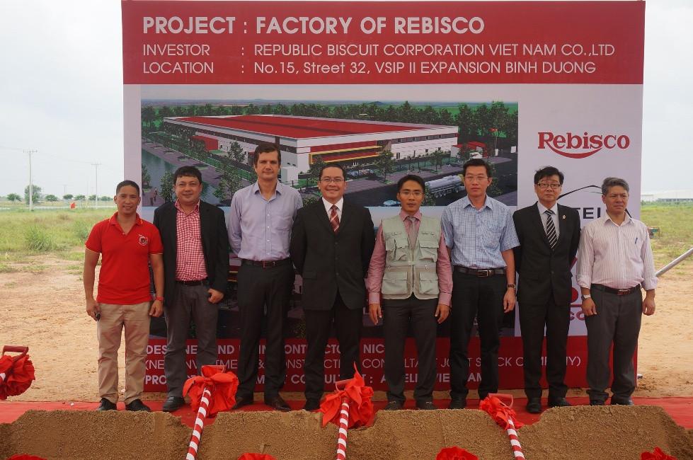 Tổng thầu thiết kế - thi công xây dựng cho tập đoàn Rebisco của Philippine 1