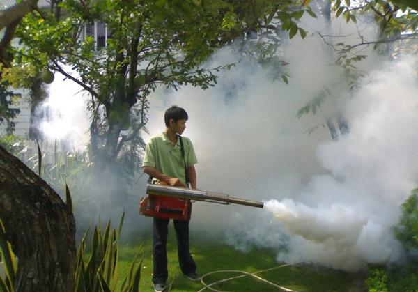 Phun khói diệt muỗi bằng pulsfog k10sp