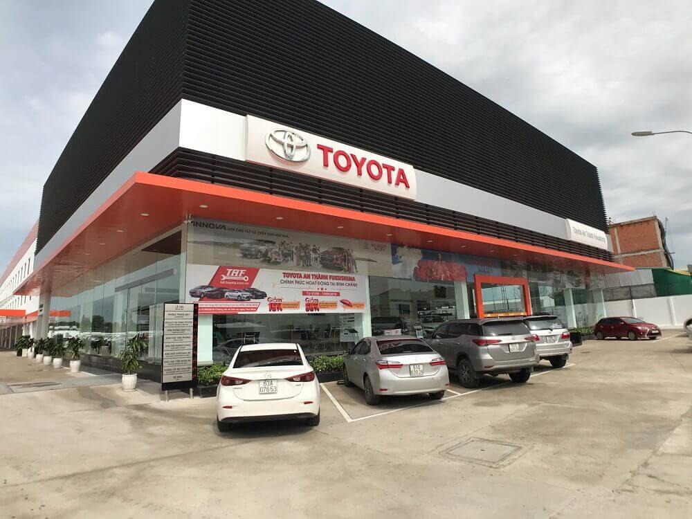 Showroom Toyota An Thành Fukushima