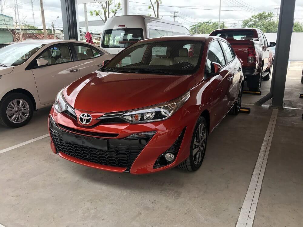 Báo giá Toyota Yaris 2018 mới nhất