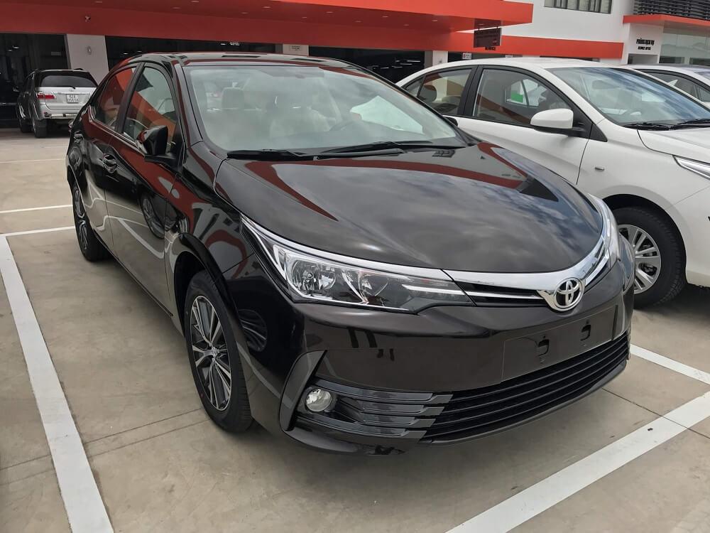 Báo giá Toyota Altis 2018 mới nhất