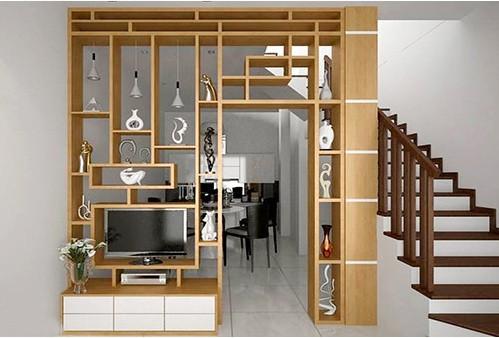 Cách tạo ấn tượng bằng lam gỗ cnc trang trí phòng, cầu thang