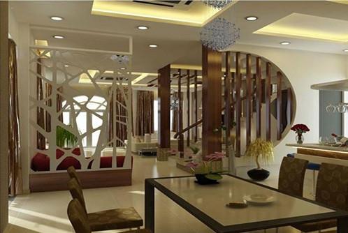 Báo giá hệ lam gỗ trang trí phòng khách và cầu thang