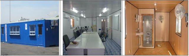 Cho thuê container văn phòng tại Bắc Ninh