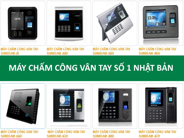 Lắp máy chấm công giá rẻ tại KCN Tân Bình, Tân Phú(2)