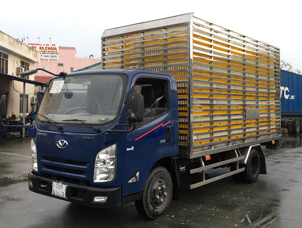 Giới thiệu xe tải Hyundai IZ65 Gold  thùng chở gà 3,5 tấn