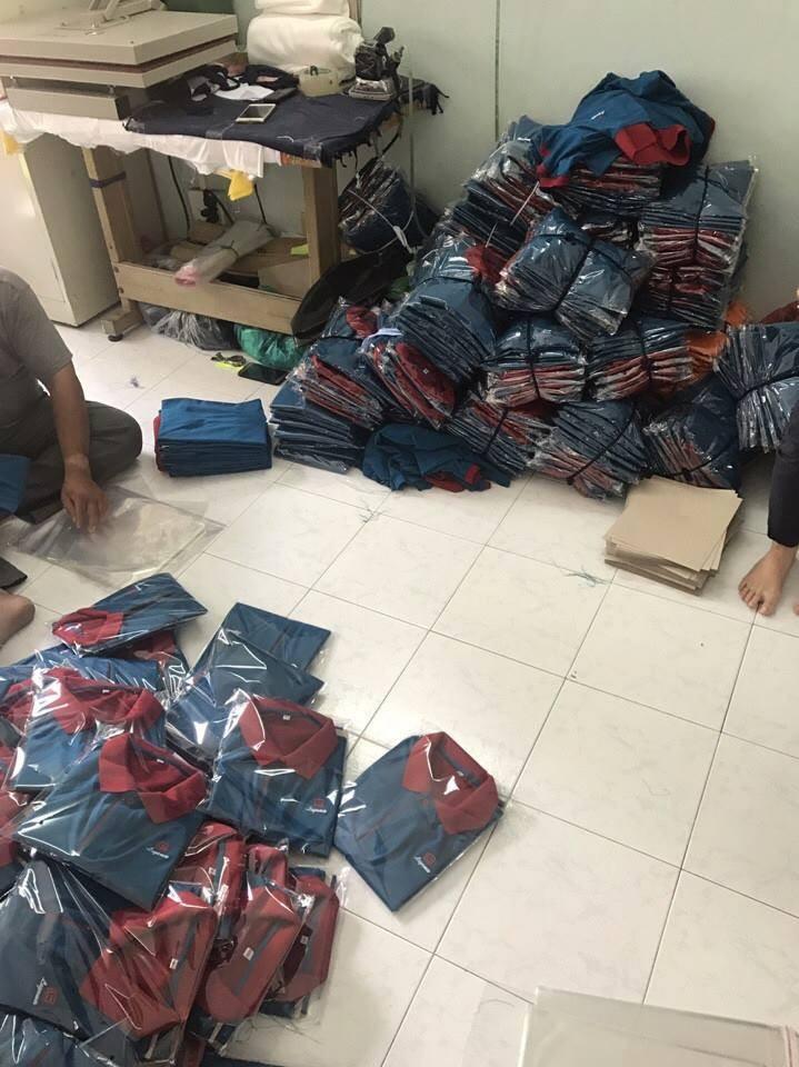 Công ty may áo thun cá sấu đồng phục giá rẻ TPHCM - Công ty may Trang Trần