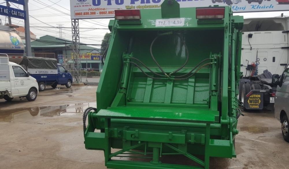 Đánh giá xe tải Jac HFC1061K3 thùng cuốn ép rác 9 khối - 9m3 giá rẻ(3)
