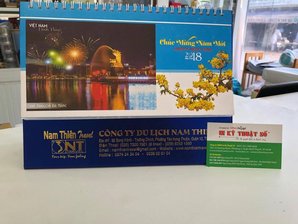 Mẫu lịch để bàn địa điểm du lịch nổi tiếng các nước - lịch để bàn cho công ty du lịch