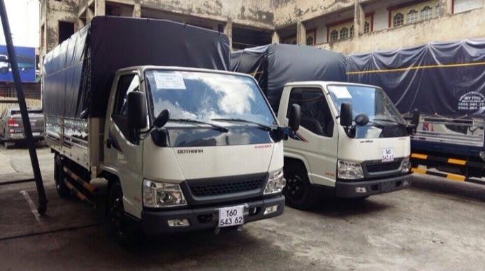 Giá xe tải hyundai 2.4 tấn Đô Thành bao nhiêu?