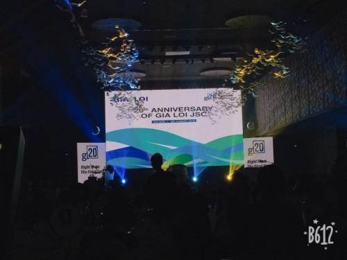 Lắp đặt màn hình Led hội trường - màn hình Led P3 cho sự kiện hội nghị khách hàng công ty Gia Lợi