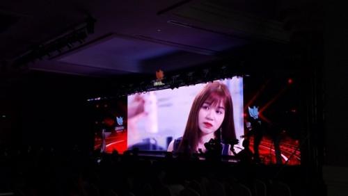 Lắp đặt màn hình Led hội trường - màn hình Led P3 cho sự kiện hội nghị khách hàng Linh Hương - Adora Hoàng Văn Thụ
